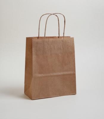 Sodrottfüles papírtáska 45x49x15 cm barna