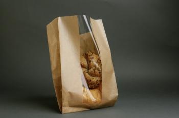 Ablakos sütőipari zacskó 1,5 kg-os